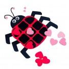 Ladybug Valentine Tic-Tac-Toe Craft Kit
