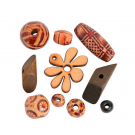 Wooden Beads Assortment