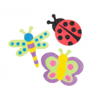 Bugs Sand Art Magnets