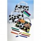 CYO Velvet Sports Tote Bags
