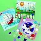Sticker Puzzle Scene - Scenic