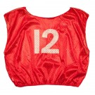 Numbered Scrimmage Vests - Youth Size - Red