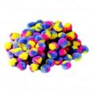 "Marble Dye Pom-Poms - 1"""