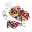 DIY Beaded Megaphone Key-Chain