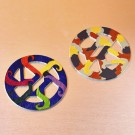 DIY Round Wooden Coasters w/o Paint