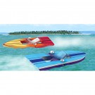 Wooden Paddle Boats