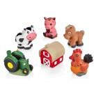 Plaster Farm Figurines Set
