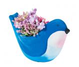 DIY Ceramic Bird Flower Pot