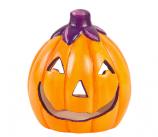DIY Ceramic Pumpkin Votive Holders