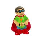 DIY Ceramic Superhero Banks