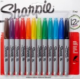 Sharpie Fine Point Markers - Assorted Colors