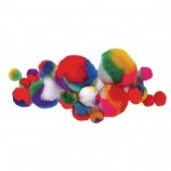 Marble Pom-Poms - Assorted Sizes