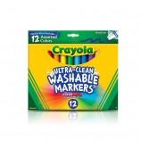 Crayola Washable Markers - 12 Pack