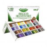 Crayola Crayon & Marker Combo Classpack