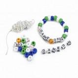 Game-On Beaded Bracelets