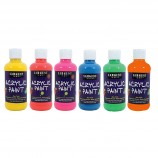 Sargent Art Fluorescent Acrylic Paint - 6 Pack